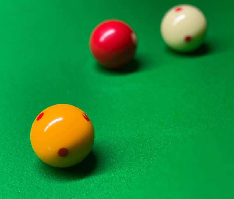 Billiard Balls At The Top