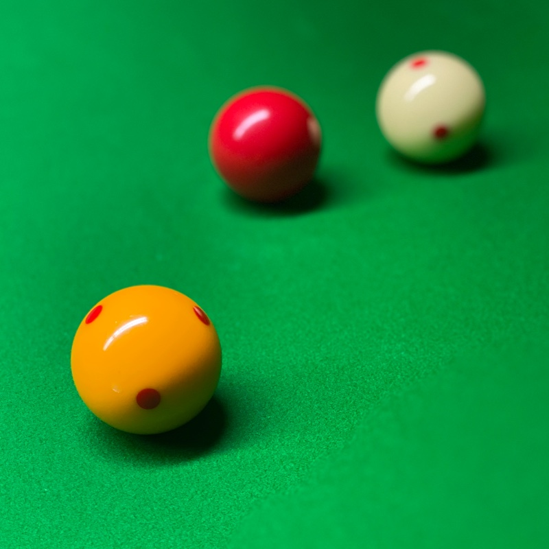 Billiard Balls At The Top