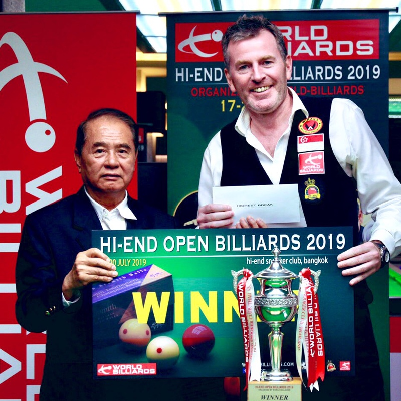 Peter Gilchrist becomes the Hi-End Open champion