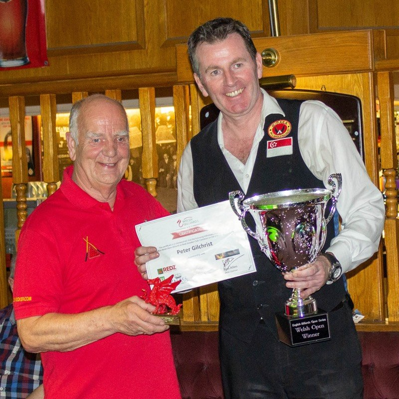Peter Gilchrist wins the Welsh Open 2019